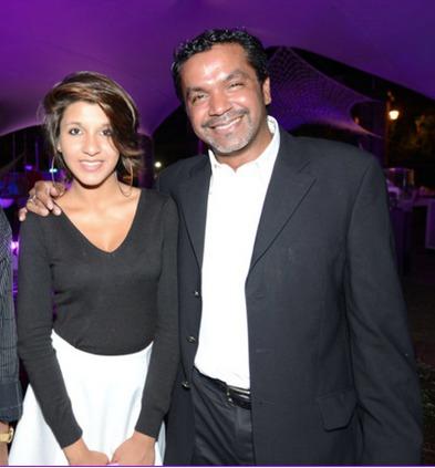 Antony Tailamee, directeur Kolors Automobile et  sa fille Alix