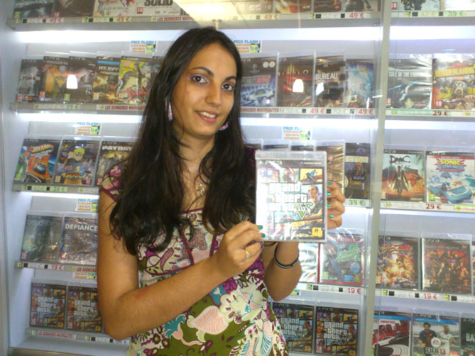Coraline Hattenberger a gagné GRAN THEFT AUTO V sur Playstation 3