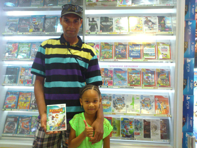 Pierre Myrthe a gagné RAYMAN ORIGINS sur Nintendo Wii
