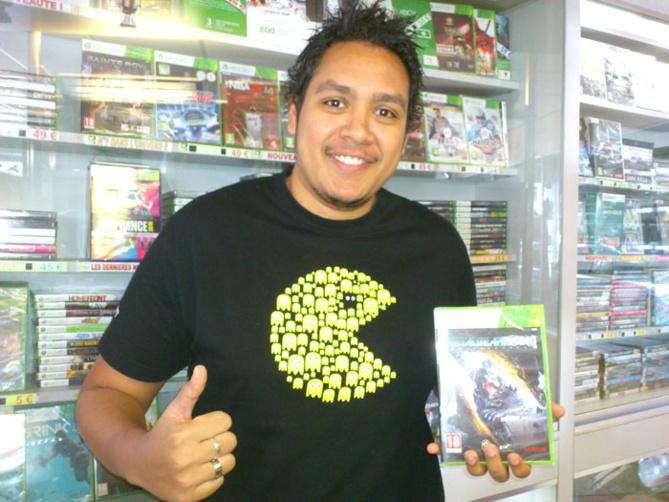 Etian Mariama a gagné METAL GEAR RISING REVENGEANCE sur Xbox 360