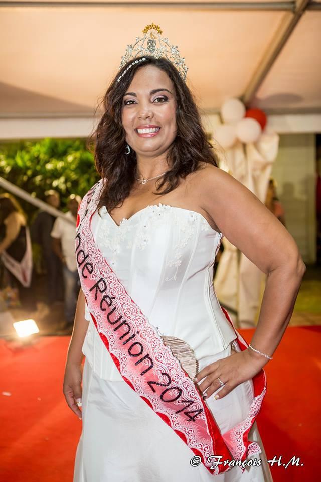 La Réunionnaise Emmanuelle Clarisse élue Miss Ronde France!