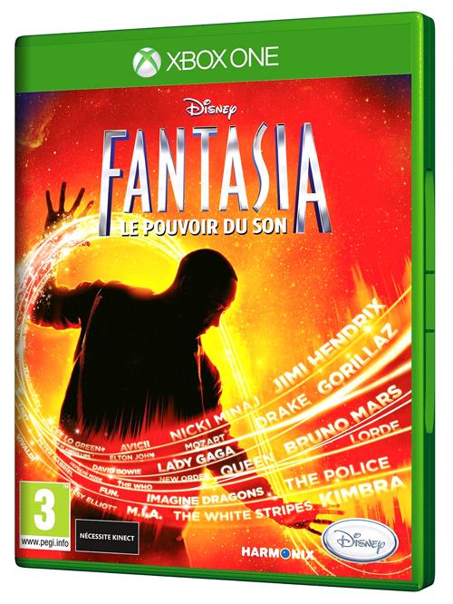 Project Spark <br>et Disney Fantasia: <br>Le pouvoir du son