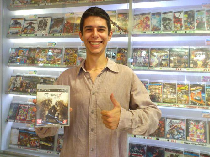 Alexandre Zitoun a gagné the DARKNESS II sur Playstation 3