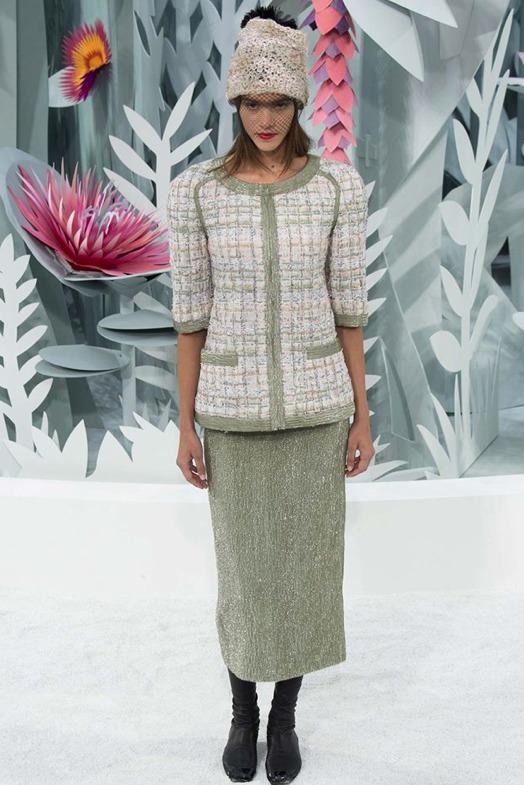 Pauline Hoarau, une très belle fleur péi chez Chanel
