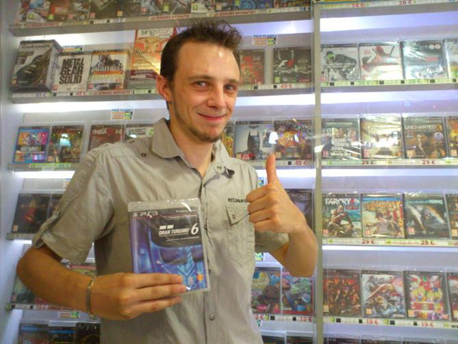Arnaud Ruton a gagné GRAN TURISMO 6 sur Playstation 3