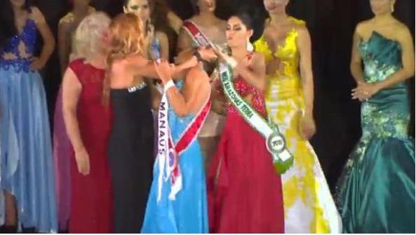 Miss Amazonie agressée par sa dauphine
