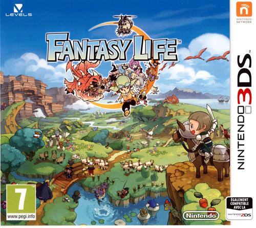 Fantasy Life <br>et Tenkai Knights: Brave Battle <br> La 3DS à l'honneur