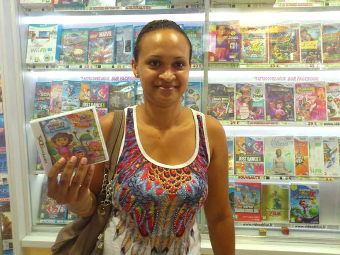 Florence Ethève a gagné DORA ET SES AMIS sur Nintendo DS