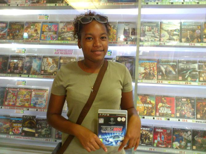 Audrey Salmon a gagné un jeu PRO EVOLUTION SOCCER 2014 sur Playstation