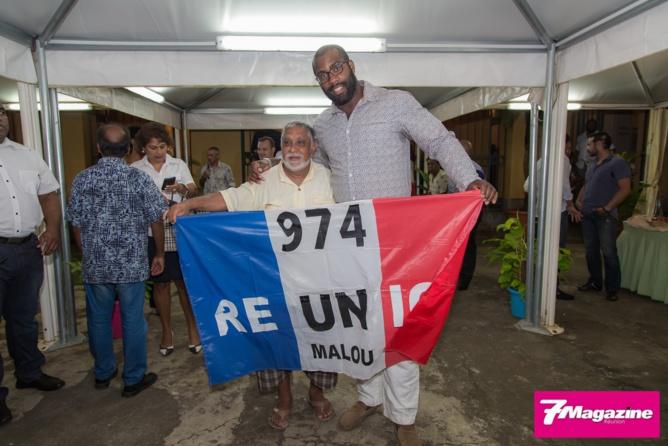 Teddy Riner <br> Honoré par la Ville de Saint-Denis
