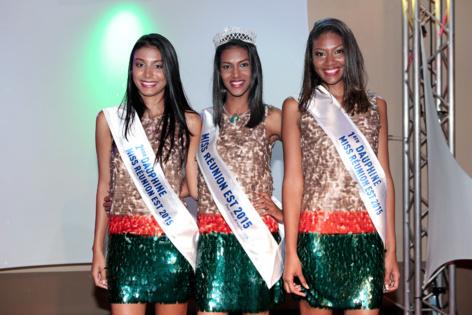 Le trio gagnant: Anaïs Pavady, Ornella Serveau et Prescilla Sandenon