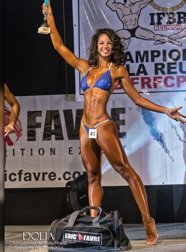 De Miss Réunion au titre de Championne de France de Fitness et de bodybuilding