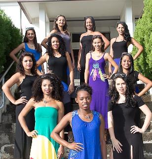 Miss Avirons 2015 jeudi 7 mai<br>Les 11 candidates