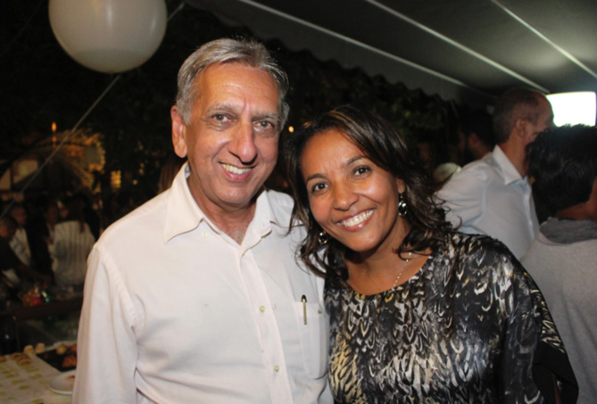 Aziz Patel pourra demander à Mémona Hintermann sa recette de cari poulet