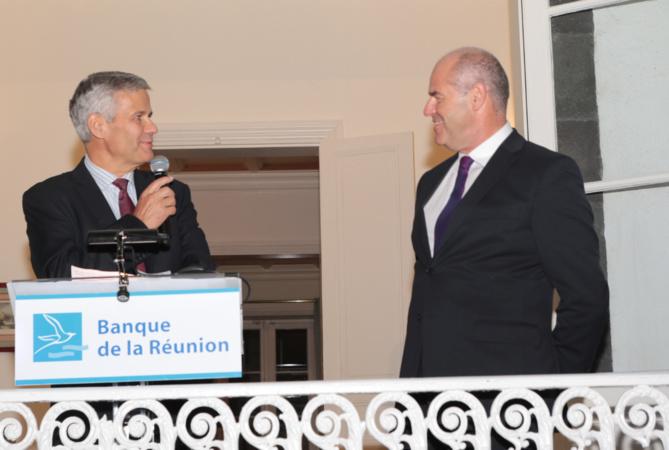 Bernard Frémont, directeur de la BR et Philippe Garsuault, président du conseil d'administration de la BR