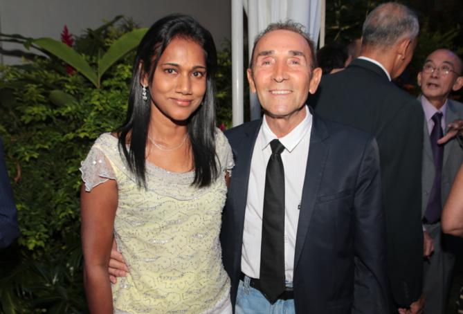 Nadia Ramassamy et Gérard Bonnet