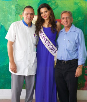 Michel Maillot, Vanille M'Doihoma et Aziz Patel