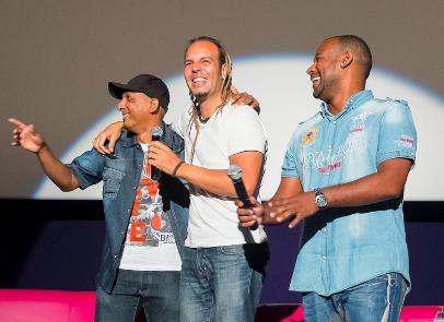 Toguna au Cinépalmes pour la présentation du film
