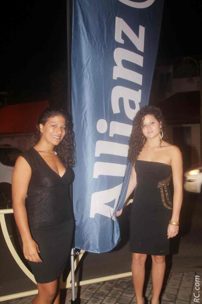 Janice et Audrey, hôtesses