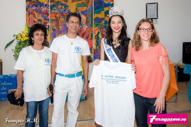 Miss Réunion soutient les malades du cancer