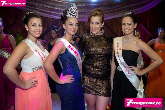 La Reine de l'Entre-Deux et ses princesses avec Ayhem Belly-Hoarau