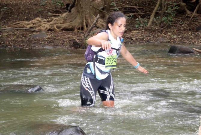 Sophie Blard, 2ème des 50km derrière l'intouchable Sud-Africaine Landie Greyling