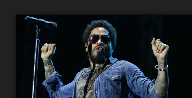 Lenny Kravitz: gros moment de solitude!