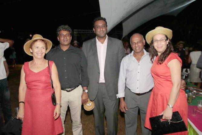 Jean-François Sita avec quelques invités