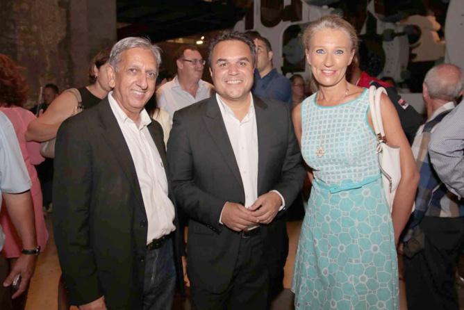 Aziz Patel, Didier Robert, Catherine Ronin