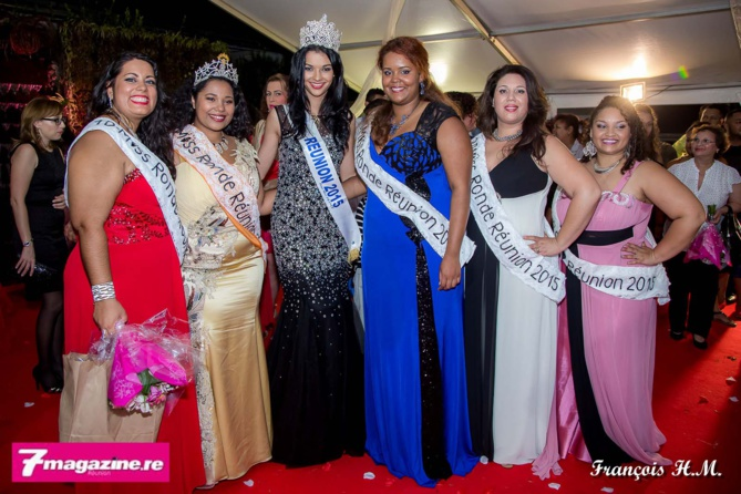 Azuima Issa, Miss Réunion 2015, était là pour soutenir les candidates, elle faisait partie du jury