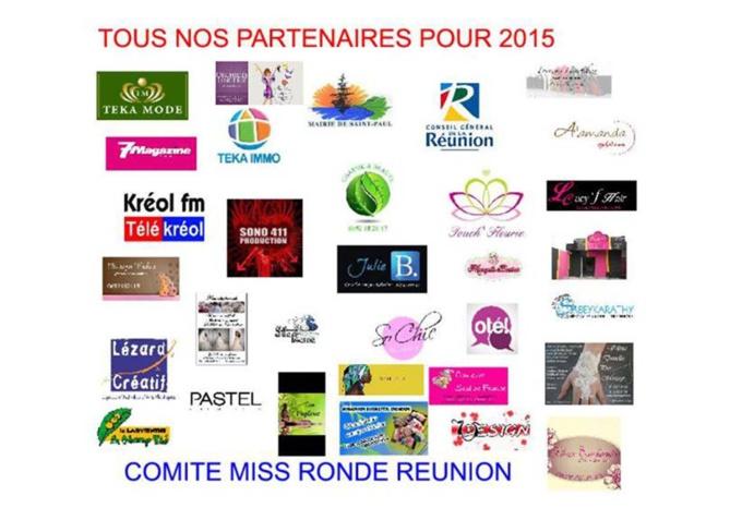 Miss Ronde Réunion 2015<br>Sidji Rouag élue