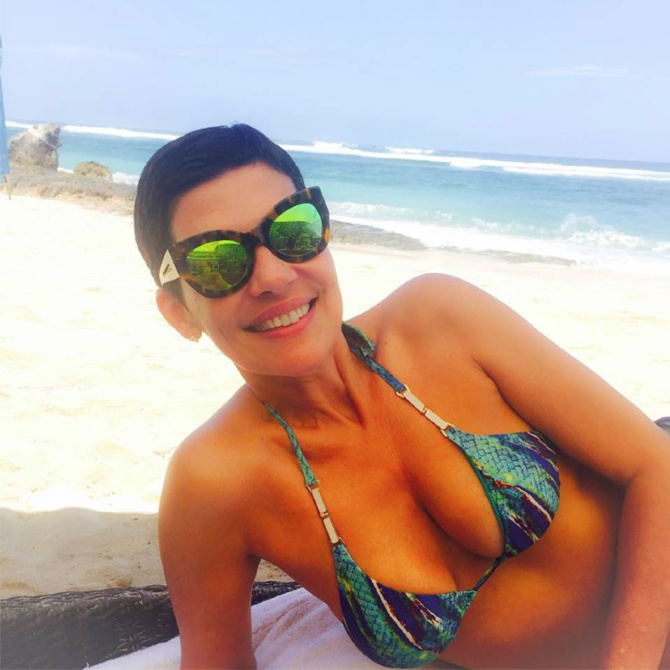 Cristina Cordula sans maquillage: magnifaik ma chérie!