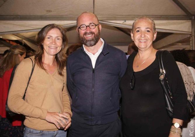 Virginie K/Bidi, Bernard Leveneur et Danièle Le Normand