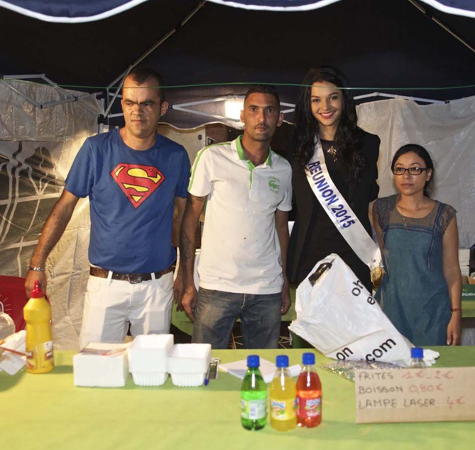 Miss Réunion à Saint-Benoît<br> Azuima Issa reçoit la médaille de la Ville</br>
