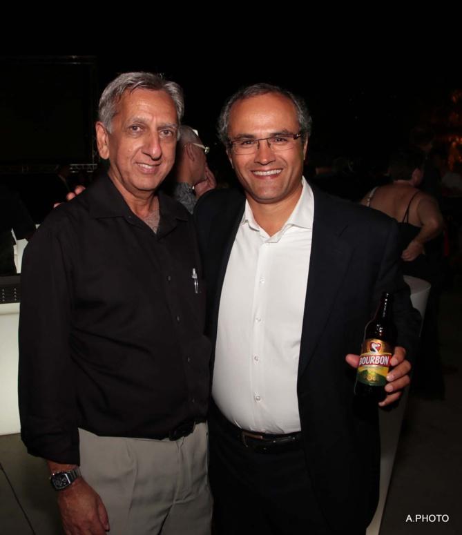 Aziz Patel et Doron Wijnschenk