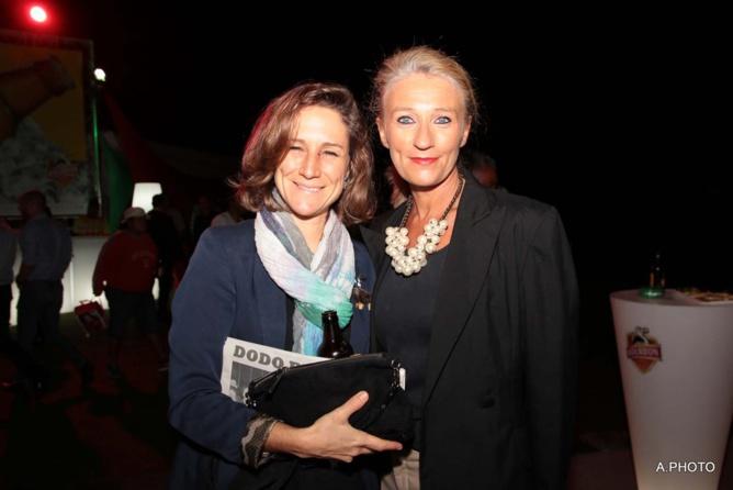 Karine Bonnal d'Air Austral et Catherine Ronin