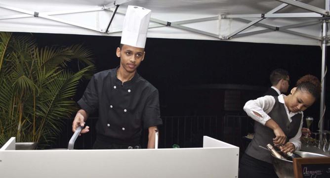 Tandabarny au cooking Show