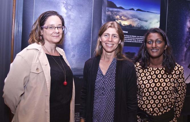 Emmanuelle Sable du Domaine Mélissa, Peggy Laurent des Girafons et Emmanuella