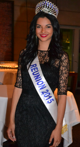 Azuima Issa, Miss Réunion 2015, habillée par Dark Revelation