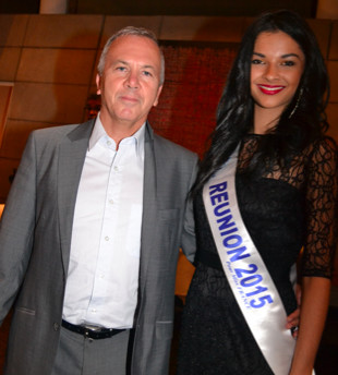 Avec Bernard Hoarau, directeur de la SIDR