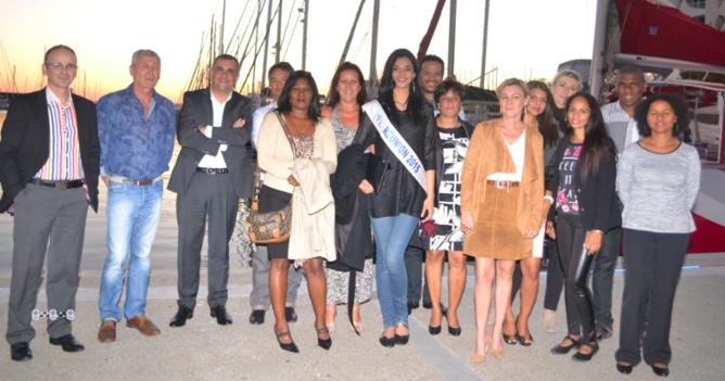 La veille au soir, c'est sur le port de La Grande Motte près de Montpellier que la délégation SHLMR s'est retrouvée