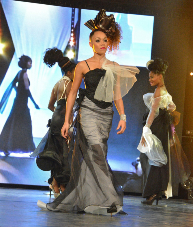 Mondial Coiffure Beauté 2015<br>Céliante a fait le show à Paris