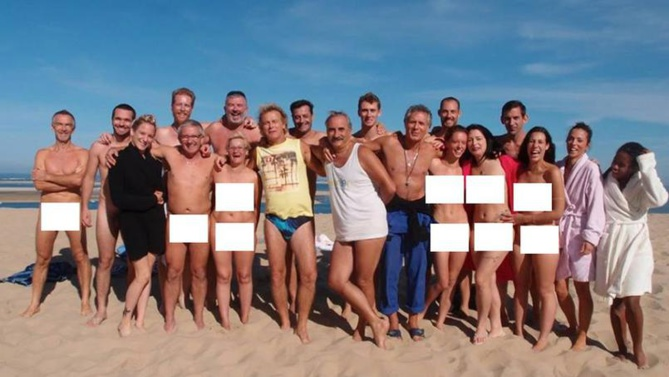 Les nudistes retrouvent Patrick Chirac