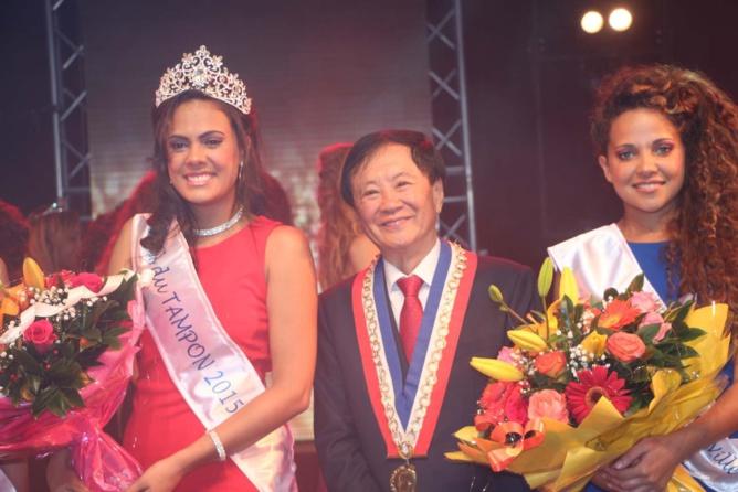 Anaïs Picard, André Thien Ah Koon, et Kimberley Gigan