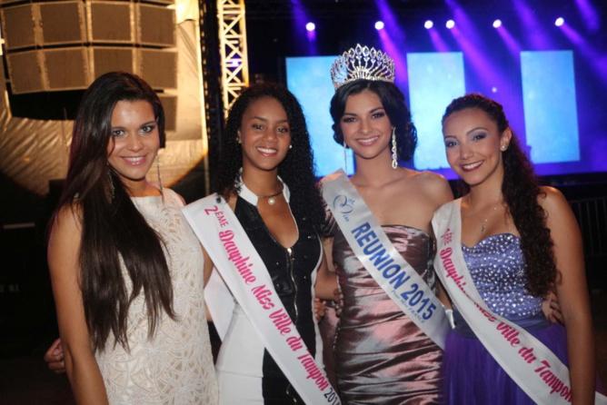 Miss Ville du Tampon 2015<br>Anaïs Picard couronnée