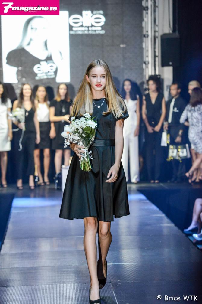 Leia, 14 ans remporte le concours Elite Model Look Reunion Island 2015