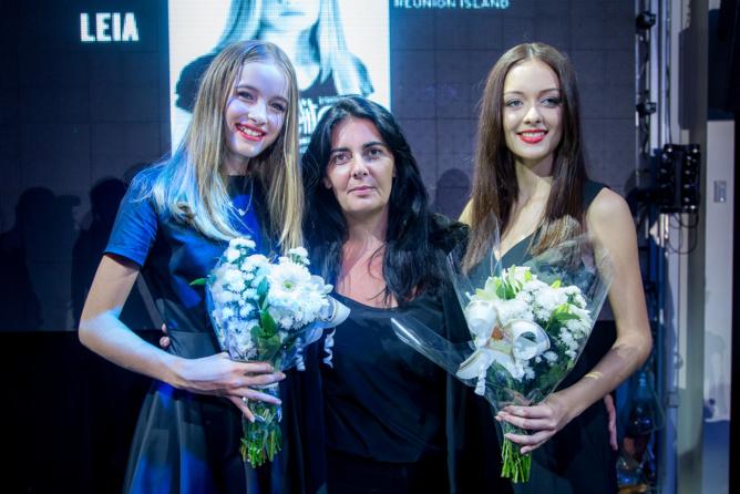 Leia, Victoria Da Silva, présidente Elite Model Look international et Morgane