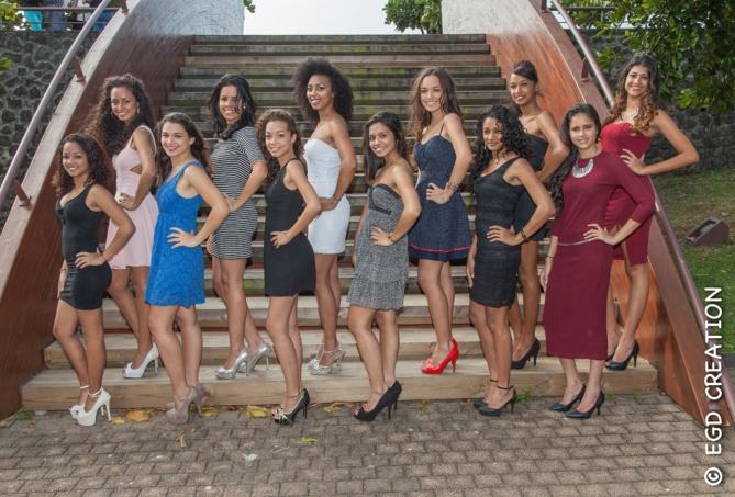 Miss Sainte-Marie 2015<br>Les 12 candidates