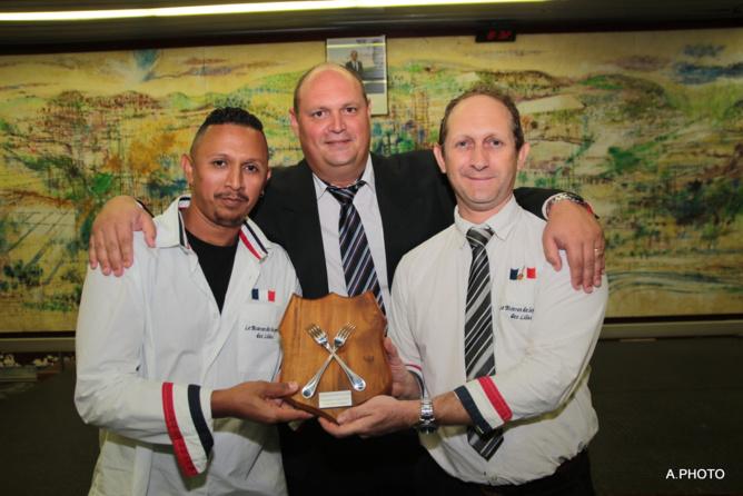 Gilles Técher et son équipe
