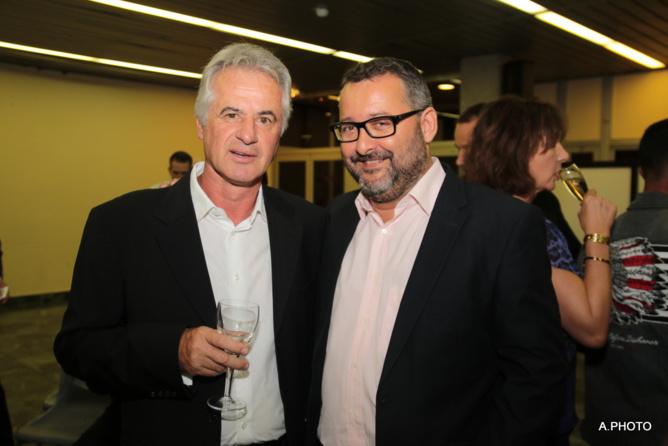 Jean-Pierre Angé et Hervé Charlanes